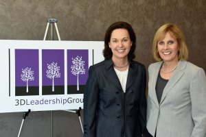 3D Leadership Group Partners Angie O'Donnell and Sue Williamson