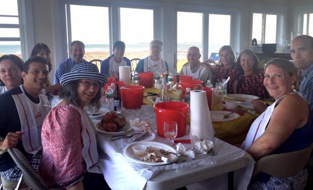Summer lobster bake at Hampton Beach