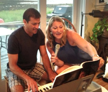 Rockin' out with Paul and Deb