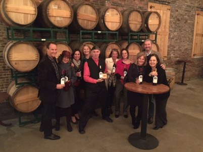 Celebrating our 10th anniversary at Boston Winery