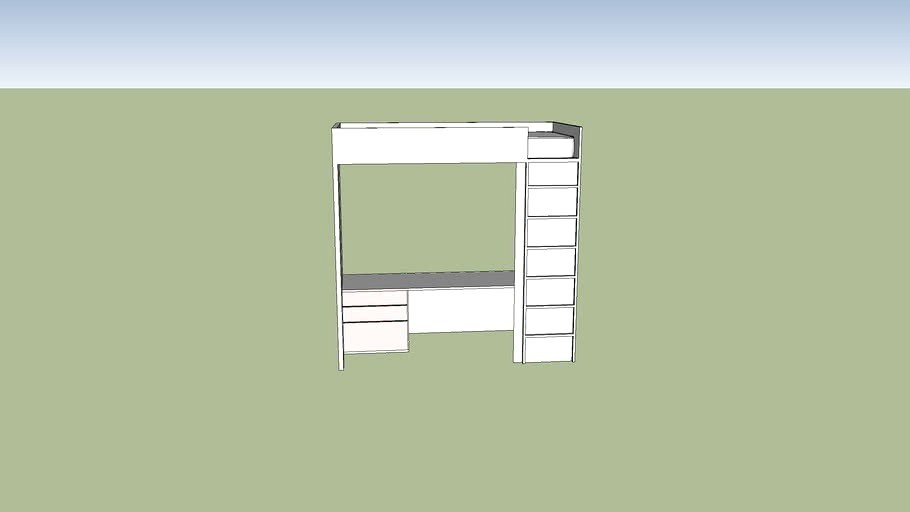 Ikea Lit Smastad 3d Model