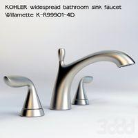faucet widespread 3d models