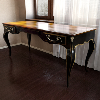 Old Style Classic Table 3D Model 3D Model DownloadFree 3D