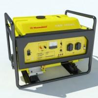 Electric Generator Hammer GNR5000A  3D Model