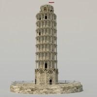 Medieval Tower 3D Model