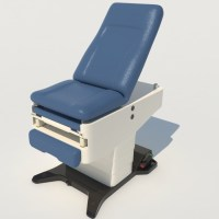 Medical Exam Table 3D Model - Realtime