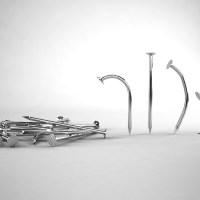 Iron Nails 3D Model