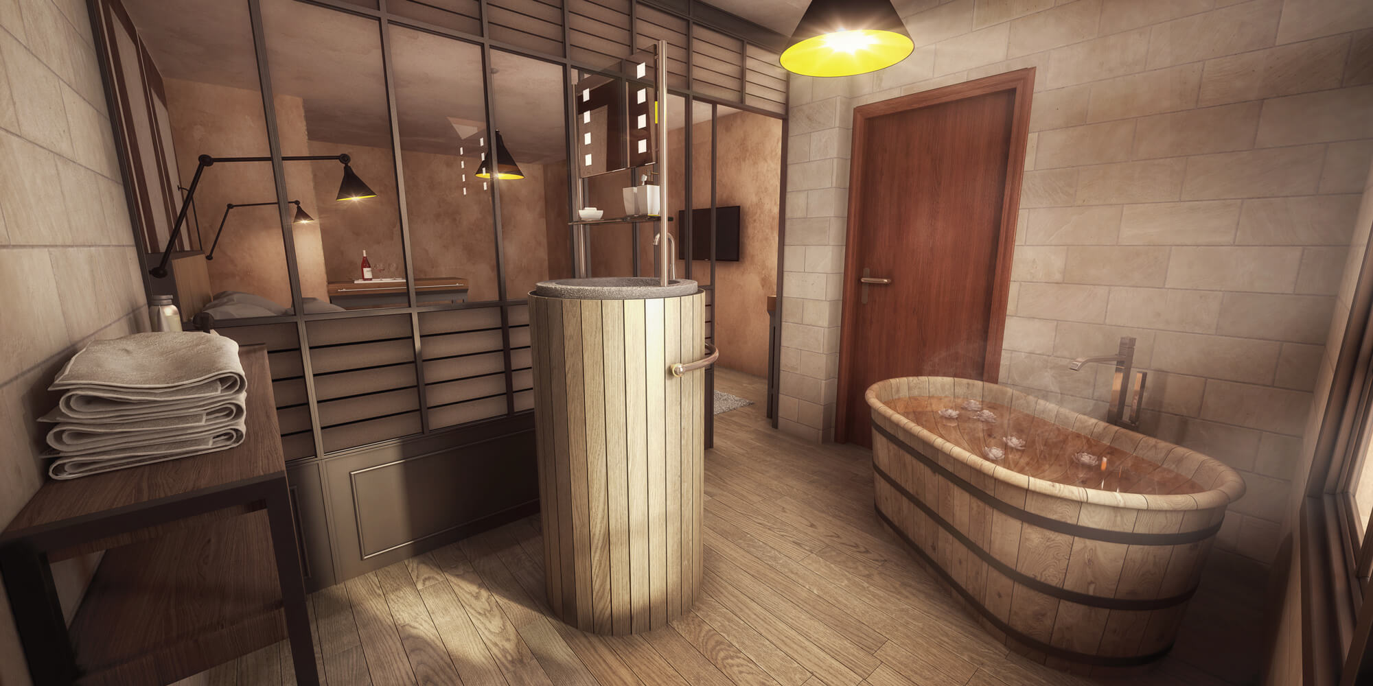 Decoration Interieur Salle De Bain Awesome Awesome