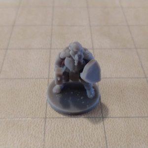 Adventurers/NPCs Dwarf Fighter with Hammer