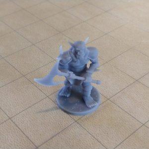 Miniatures Bugbear with Axe