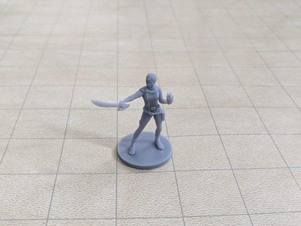 Elf Female Hexblade Warlock