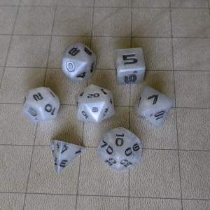 Dice Orc Tusk Edged Dice Set