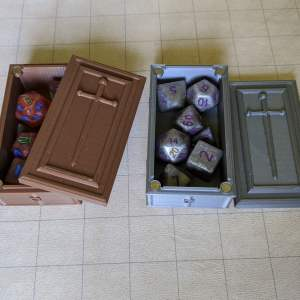 Dice Cases Coffin Dice Case