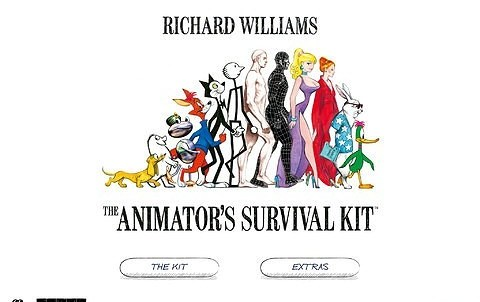 The Animator's Survival Kit for iPad