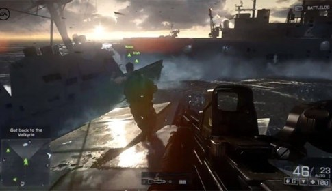 Battlefield 4 Official Angry Sea Single Player Gameplay Video -