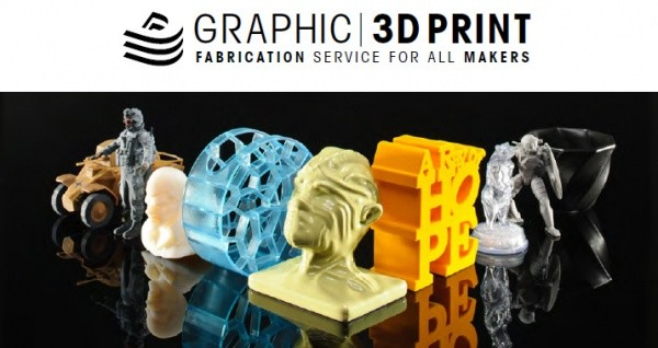 GRAPHIC 3D PRINT Fabrication Service for All Makers