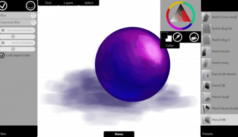 Krita Sketch 1.0 for Windows