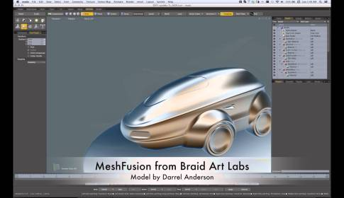 SubDFusion from Braid Art Labs
