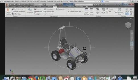 Autodesk Inventor Running in FireFox on a Mac