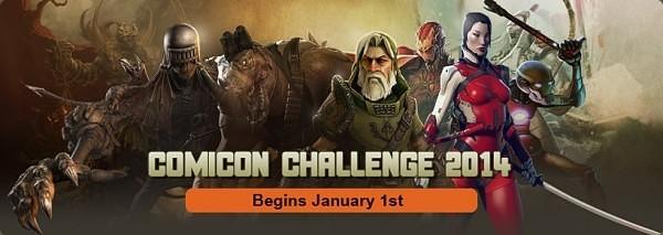 Comicon Challenge 2014
