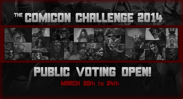 Comicon Challenge 2014 Public Voting Open