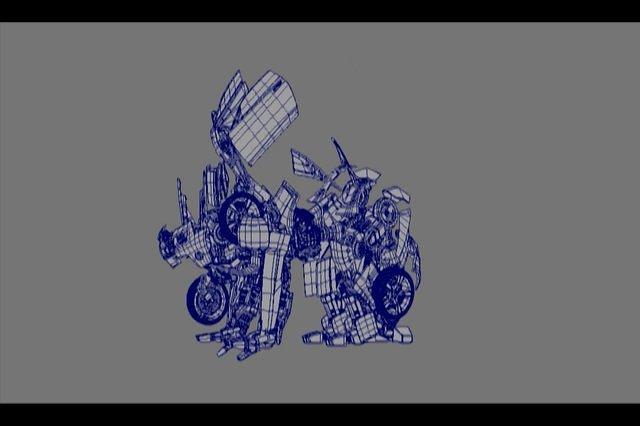 Transformer Bumblebee rig