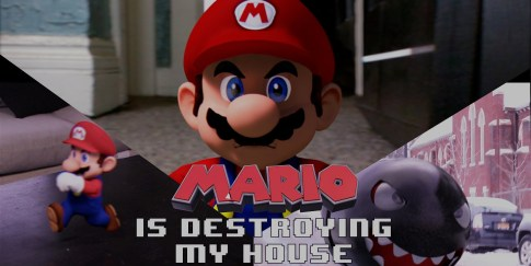 Mario is Destroying my house!