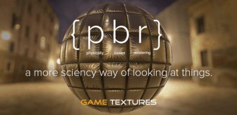 GameTextures gets PBR