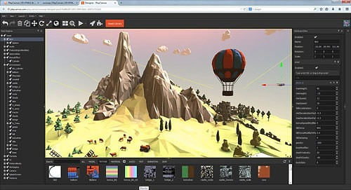 PlayCanvas Engine