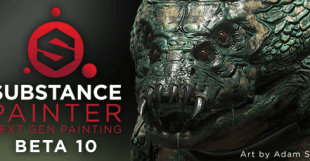 Substance Painter Beta 10
