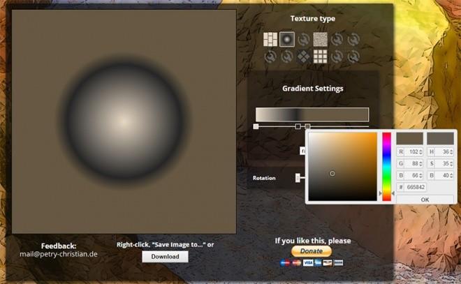 TextureGenerator-Online グラデーション