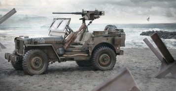 FIRST PLACE IS JEEP WILLYS BY ERNEST KOŚKA