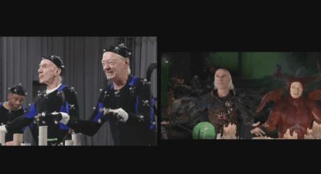 The Dark Sorcerer making-of