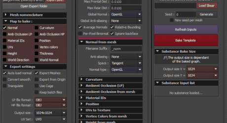 Substance Maya Toolset 0.6