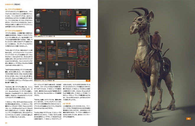 ZBrush Characters & Creatures jp 04