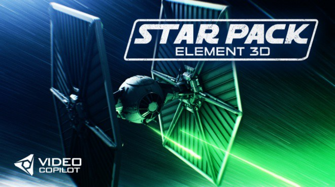 Star Pack Element 3D