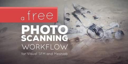 Free Photo Scanning Workflow! - 無料で始める3Dフォトスキャンワークフロー紹介映像!VisualSFM&Meshlab