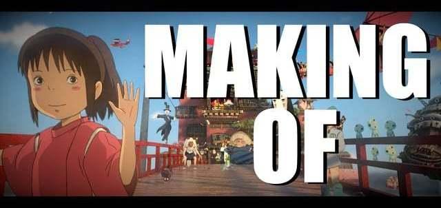 Tribute to Hayao Miyazaki - Making of - 話題になった宮﨑駿トリビュート作品のメイキングが公開されたぞ!Blender、Gimp、Octane、Natron