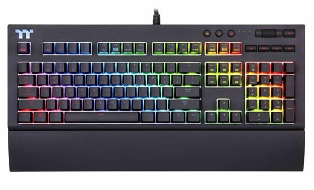 key1 CES 2018: клавиатура Thermaltake X1 RGB Cherry MX для требовательных пользователей