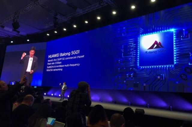 sm.24.750 MWC 2018: HuaweiBalong 5G01 — первый 5G-чипсет по стандартам 3GPP