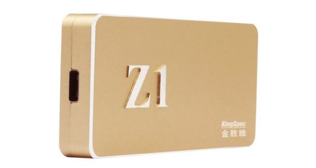 ssd1 KingSpec Z1: портативный SSD-накопитель с портом USB 3.1 Type-C
