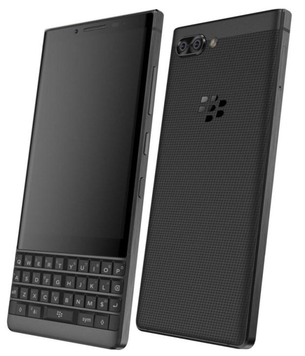 Смартфон BlackBerry Athena с QWERTY-клавиатурой показался на рендерах