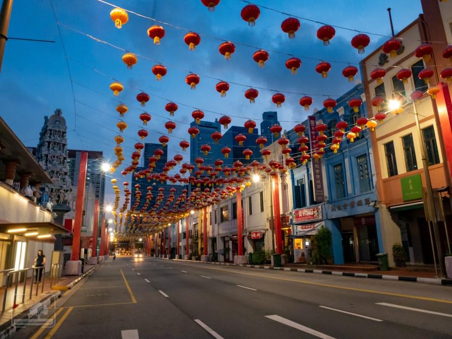 Lampiony wChinatown