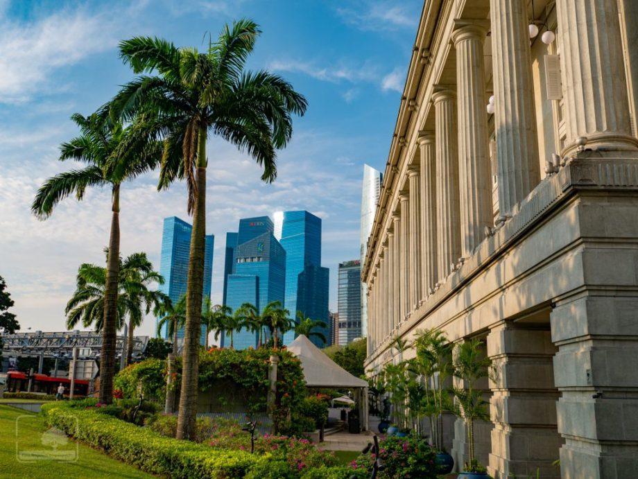 Singapur wieżowce
