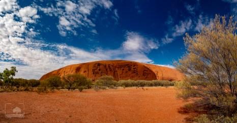Uluru od tyłu