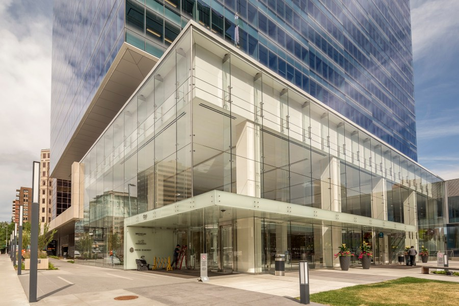Glass facade-commercial-spaces-designs