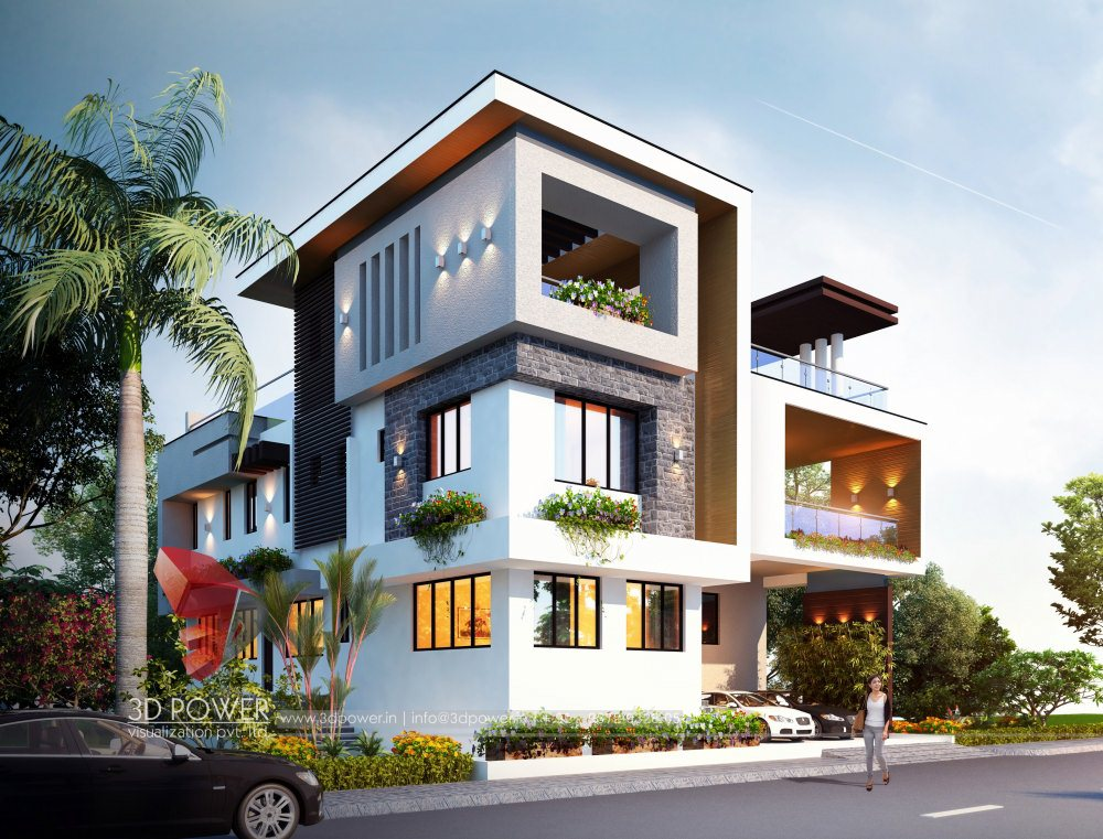 Bungalow Architectural Hyderabad
