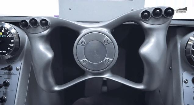 The 3D Printed Titanium Steering Wheel