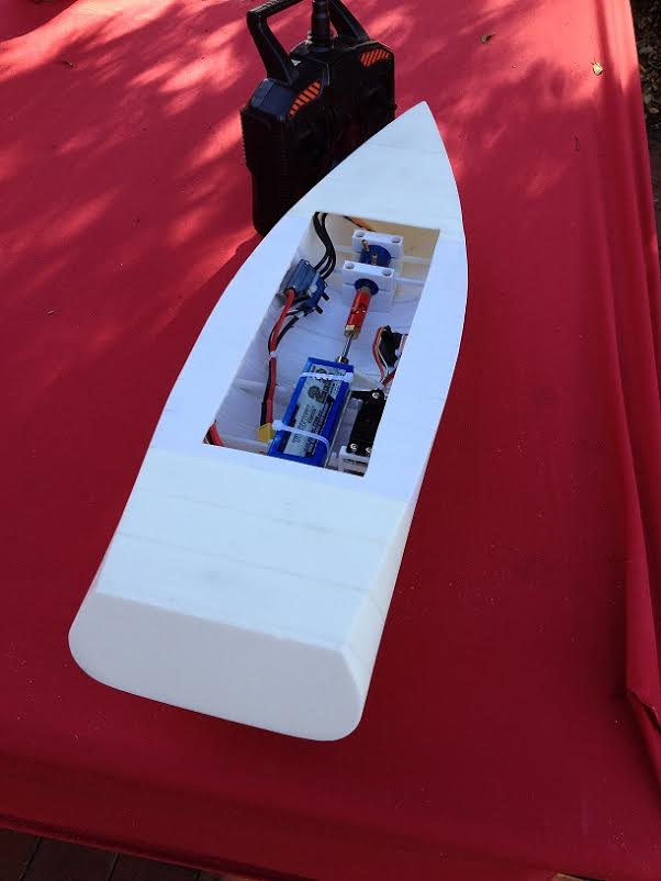 Australian Man Designs Amp 3d Prints A Working Rc Boat On
