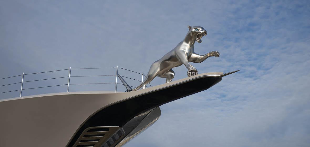 Materialise 3D Prints Huge Jaguar For Jacksonville Jaguars